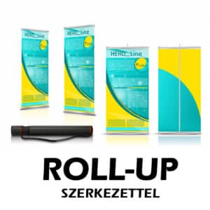 Roll-up szerkezettel